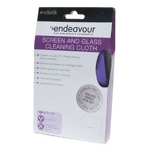 Endeavour Screen and Glass Microfibre Cleaning Cloth