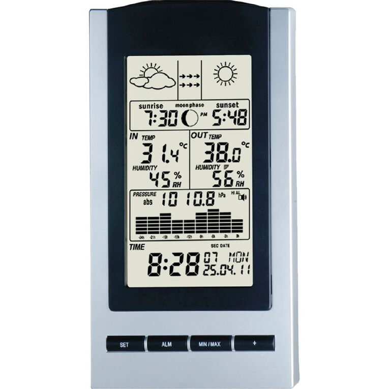 Tesa Wireless Weather Station, , hi-res