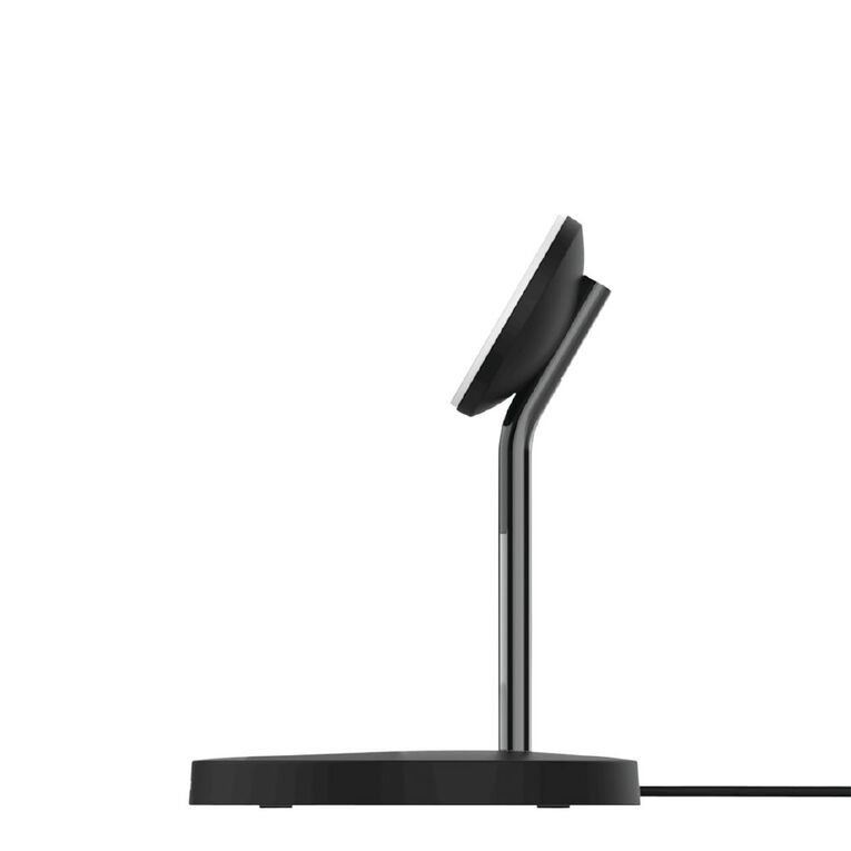 Belkin 2 in 1 Wireless Charger Stand with MagSafe - Black, , hi-res