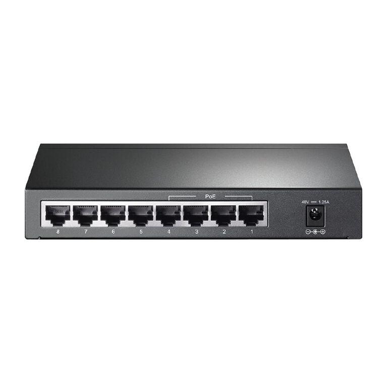 TP-Link 8 - Port Gigabit Desktop PoE Switch, , hi-res