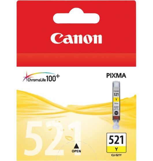 Canon CLI521Y Ink - Yellow