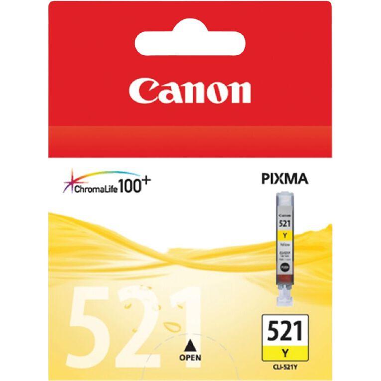 Canon CLI521Y Ink - Yellow, , hi-res