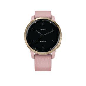 Garmin vivoactive 4S GPS Smartwatch Dust Rose/Light Gold