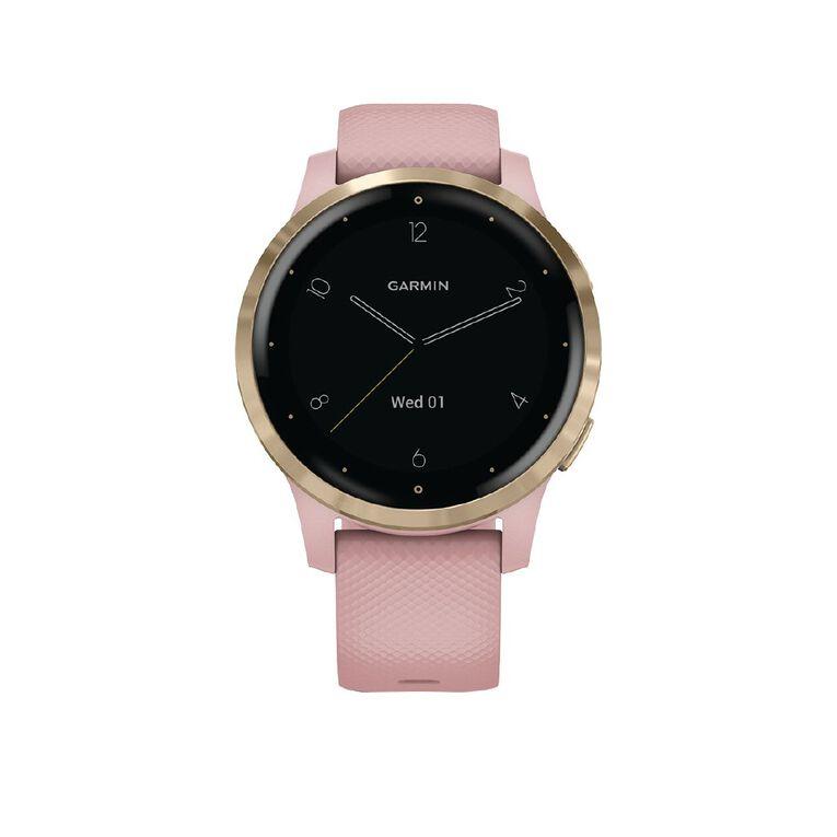 Garmin vivoactive 4S GPS Smartwatch Dust Rose/Light Gold, , hi-res