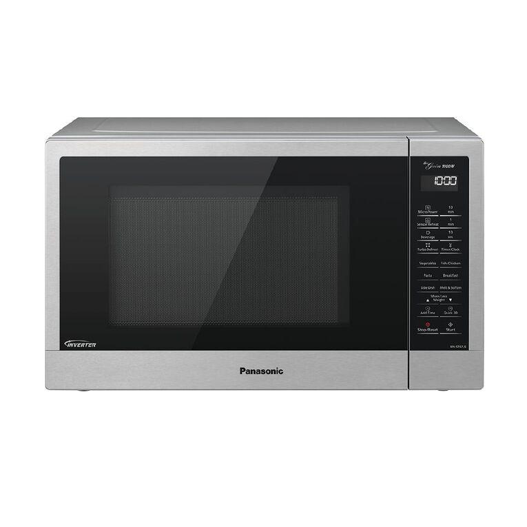Panasonic 32 Litre Inverter Microwave Stainless Steel, , hi-res