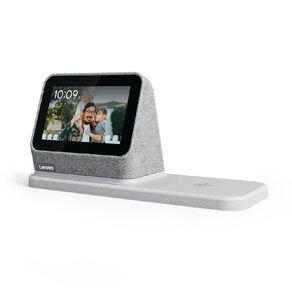 Lenovo Smart Clock 2 Grey with Wireless Charging Dock