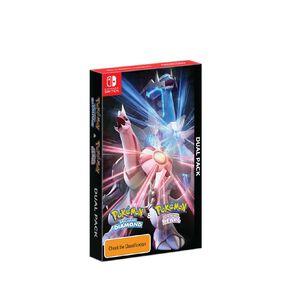 Nintendo Switch Pokémon Brilliant Diamond and Pokémon Shining Pearl Dual Pack