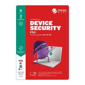 Trend Micro Device Security Pro 6 Device 2 Year Subscription