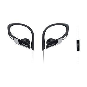 Panasonic Sports Clip Headphones Black