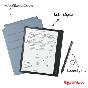 "Kobo Elipsa E-Reader 10.3"" with SleepCover Bundle - Black"
