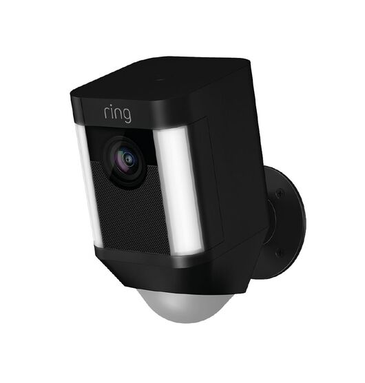 Ring Spotlight Wireless Camera - Black