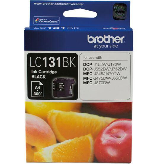 Brother LC131BK Black Ink