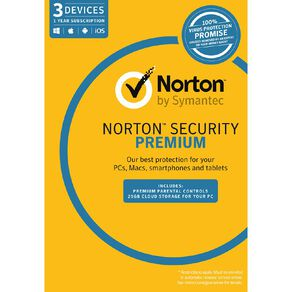 Norton Security Premium 3.0 for 3 Device 12 Month