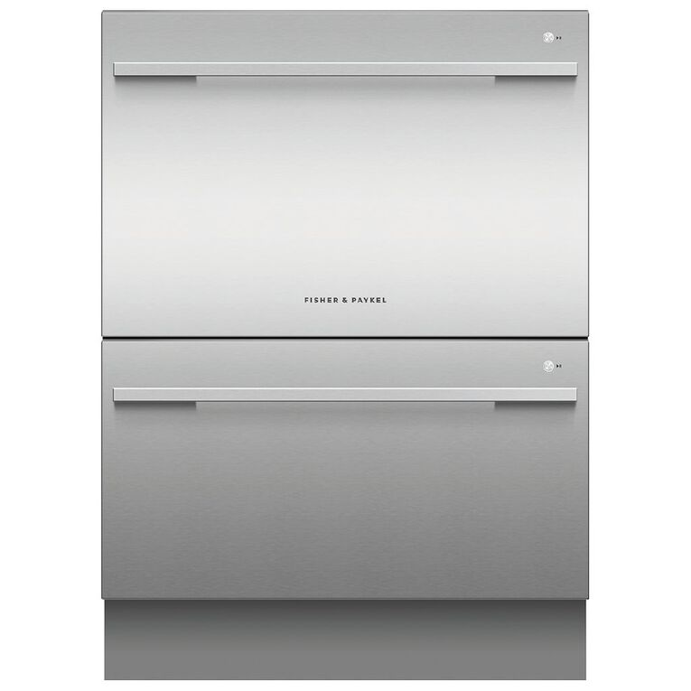 Fisher & Paykel 14 Place Setting Double DishDrawer - Stainless Steel, , hi-res