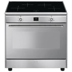 Smeg 90cm Freestanding Oven with Induction Hob