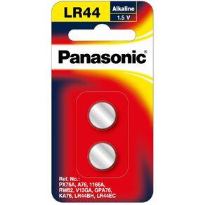 LR44/A76 Panasonic Calculator Battery 2pk