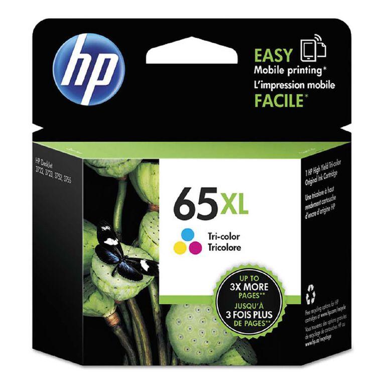 HP 65XL Ink Tri-Colour, , hi-res