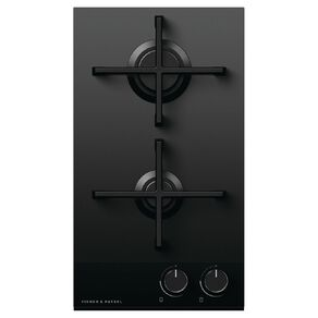 Fisher & Paykel 30cm Gas on Glass Cooktop