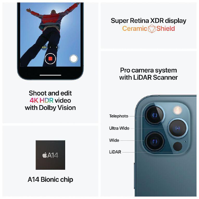 Apple iPhone 12 Pro Max 128GB - Pacific Blue, , hi-res