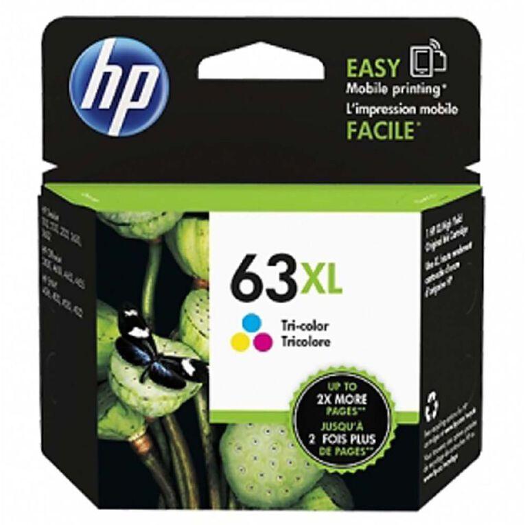 HP NO.63XL Ink - Colour, , hi-res