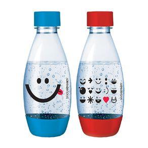 Sodastream 500ml Fuse Bottle - Red/Light Blue