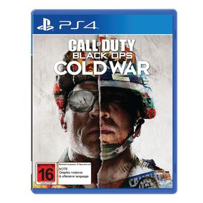 PlayStation 4 Call of Duty Black Ops: Cold War