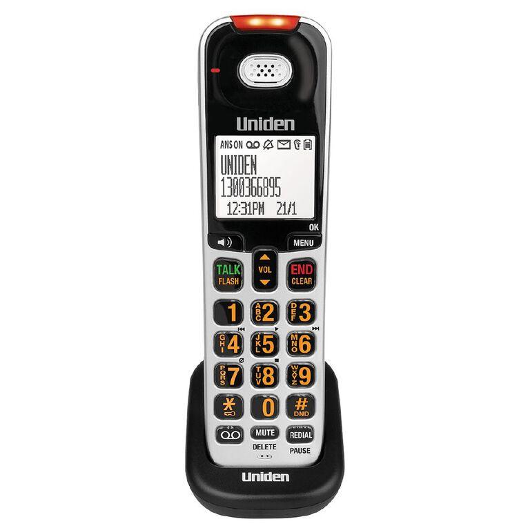 Uniden SSE07 Additional Sight & Sound Enhanced Handset, , hi-res