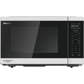 Sharp 30L White Flatbed Microwave