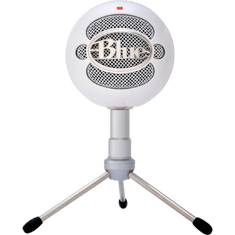 Blue Snowball iCE White USB Mic, , hi-res