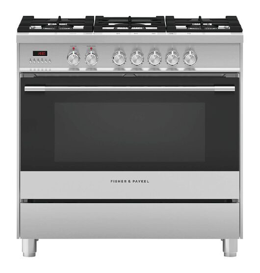 Fisher & Paykel 90cm Gas/Electric Freestanding Oven