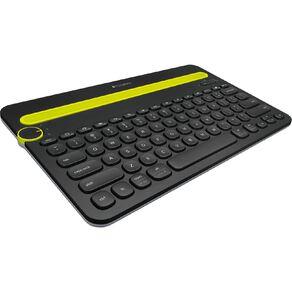 Logitech Bluetooth Multi Device Keyboard K480 Black
