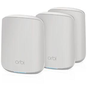Netgear Orbi AX1800 Dual-band Mesh WiFi 6 System- 3 pack