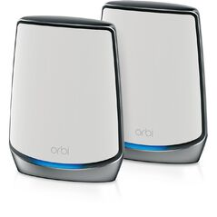 Netgear Orbi RBK852 AX6000 Whole Home Tri-band Mesh WiFi 6 System - 2 Pack