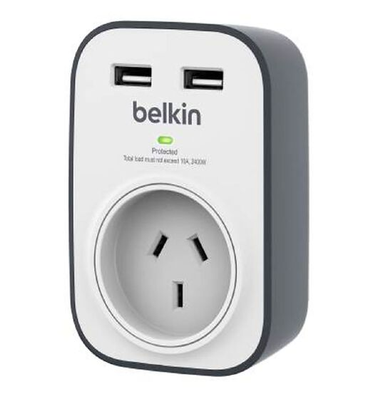 Belkin Single Surge Protector with 2 USB Ports