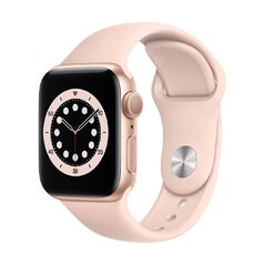 Apple Watch Series 6 40mm GPS Gold Aluminium Case with Pink Sand Sport Band