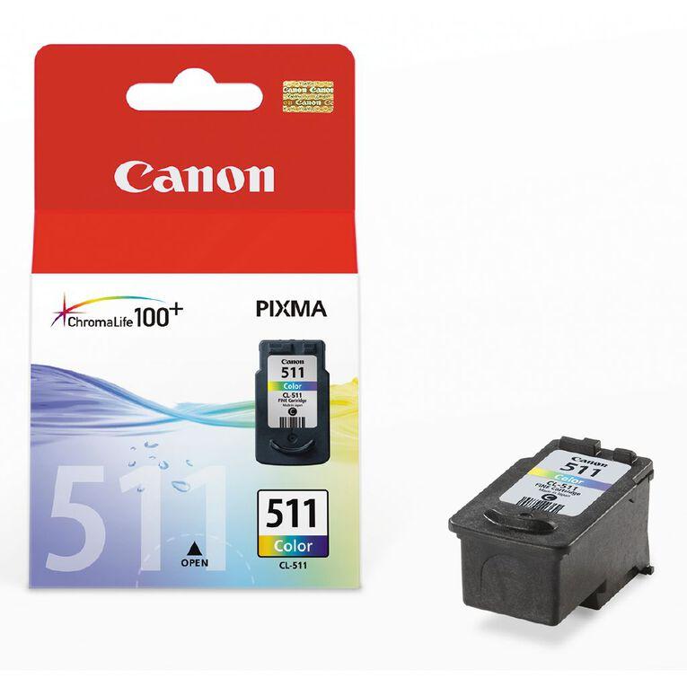 Canon CL511 Ink Tri-Colour, , hi-res