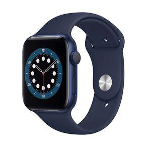 Apple Watch Series 6 44mm GPS Blue Aluminium Case with Deep Navy  Sport Band