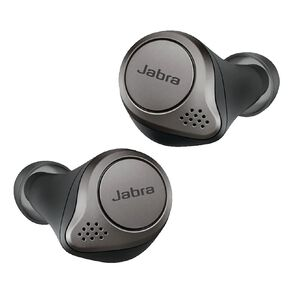 Jabra Elite 75T True Wireless Noise Cancelling Headphones - Black