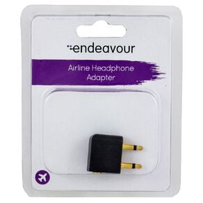Endeavour Airline Headphone Adapter