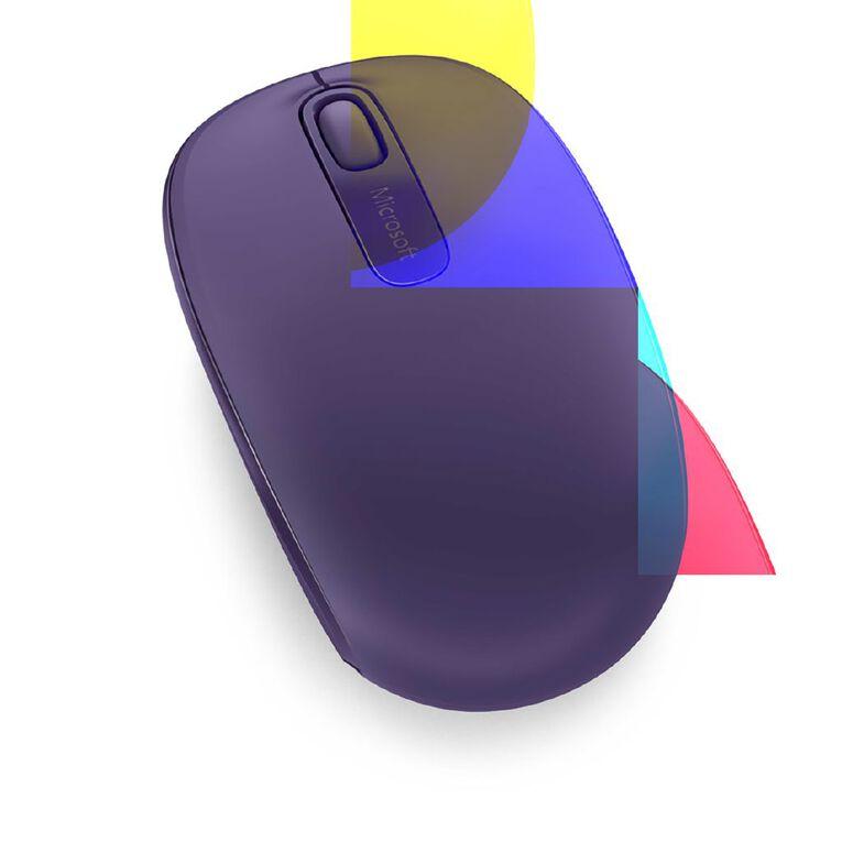 Microsoft Wireless Mobile Mouse 1850 Purple, , hi-res
