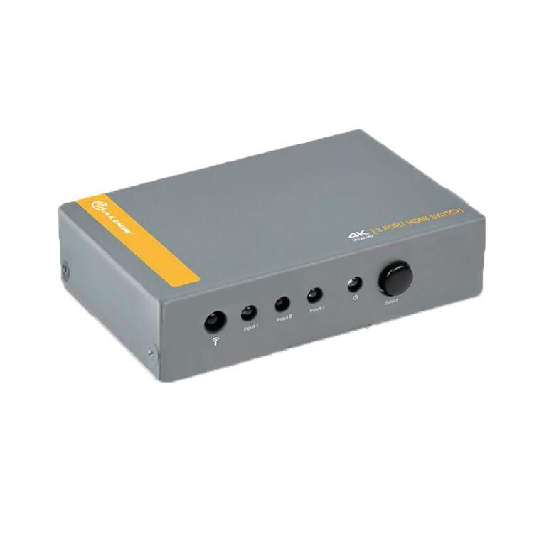 ALOGIC 3 Port HDMI 2.0 4K Switch with Wireless Remote, , hi-res