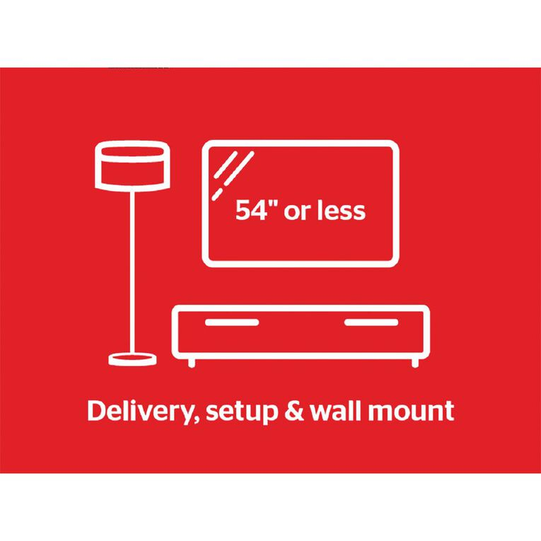 """Tech Solutions TV Delivery & Set Up with Wall Mounting up to 54"""", , hi-res"""