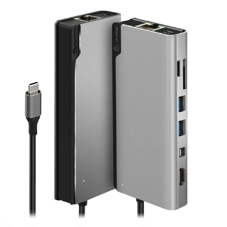 ALOGIC Ultra USB-C Dock Plus - Space Grey, , hi-res