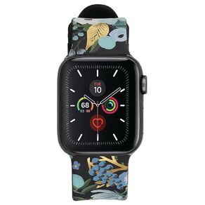 Rifle Paper Co. 38-40mm Apple Watch Band Garden Party Blue