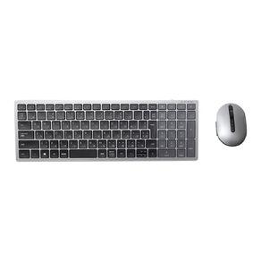 Dell KM7120W  Multi-Device Wireless Keyboard & Mouse Combo - Titan Gray