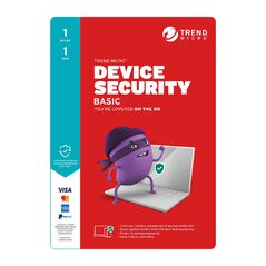 Trend Micro Device Security Basic 1 Device 1 Year Subscription