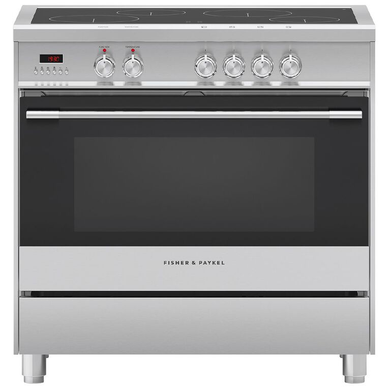 Fisher & Paykel 90cm Electric Freestanding Oven, , hi-res