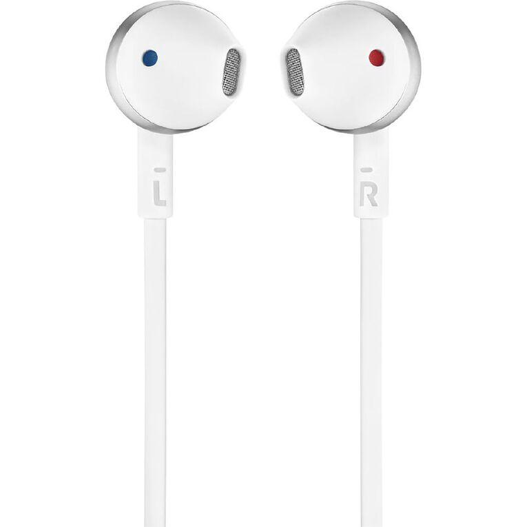 JBL T205 In Ear Headphones - Chrome, , hi-res