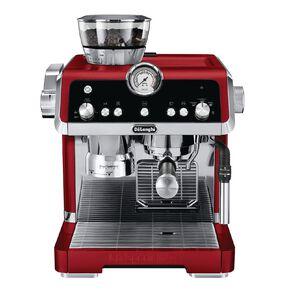 Delonghi La Specialista Manual Coffee Machine Red
