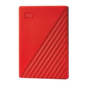 WD My Passport 2TB USB 3.0 External HDD - Red
